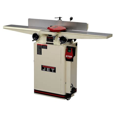 jet  hp   woodworking long bed helical head jointer