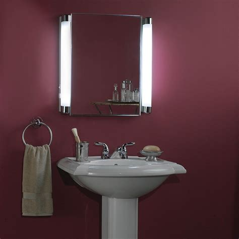 bathroom mirrors with lights attached amazing medicine cabinets with mirror all home decorations