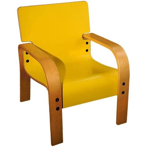 yellow mid century armchair for sale at 1stdibs