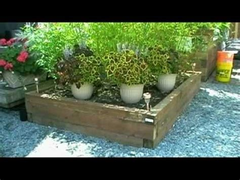Landscape Timbers Vs 4x4 Building Raised Garden Beds With Landscape Timbers