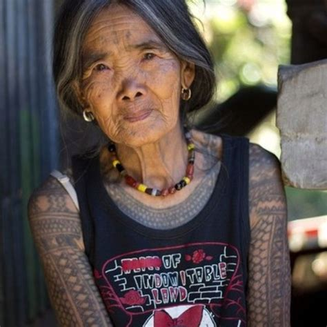 apo whang od   kalinga tattoo artist  featured  national geographic fang od