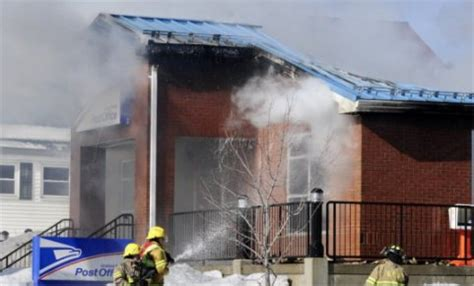 Winthrop Maine Post Office by Destroys Winthrop Maine Post Office Postal