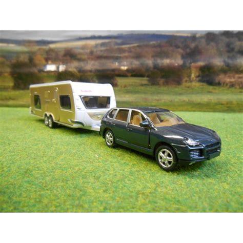 Siku Porsche Cayenne by Siku 1 55 Porsche Cayenne Dethleffs Caravan Figures