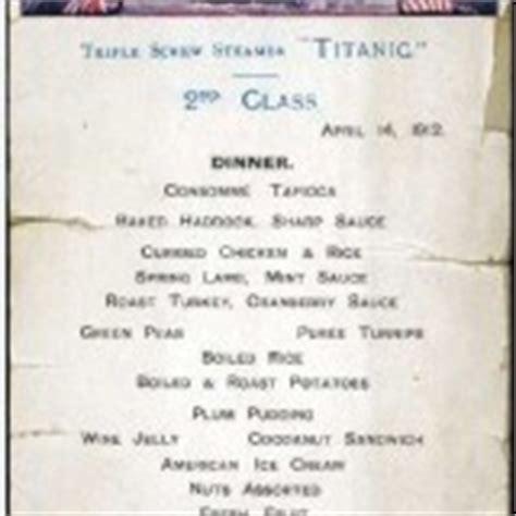 Come With Me Passover Menu 2nd Course by Titanic 3d Come Dinner L Ultima Cena Riproposta Dopo 100 Anni