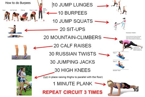 best photos of crossfit workouts at home circuit