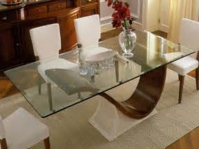 Glass Top Dining Room Tables Glass Top Tables Magnifying Beautiful Dining Room Design