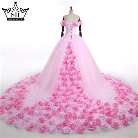 Aliexpress.com : Buy 2017 Pink Cloud Flower Rose Wedding