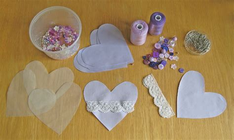 pattern for heart shaped lavender bags tina a trio of heart shaped lavender bags sew make believe