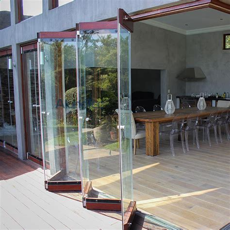 Bi Folding Glass Doors And Aluminum Frameless Bifold Glass Bi Fold Doors Glass Panels