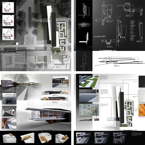 architecture design presentation layout past presentation boards part 2 visualizing