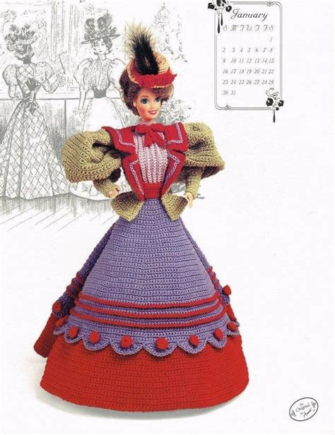 doll clothes pattern books 142 best fashion doll crochet patterns images on pinterest