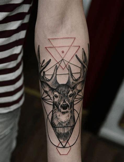tattoo eyebrows red deer best 25 geometric deer ideas on pinterest deer tattoo