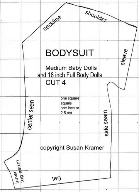 html body pattern skort skirt bodysuit pattern to fit american girl 18