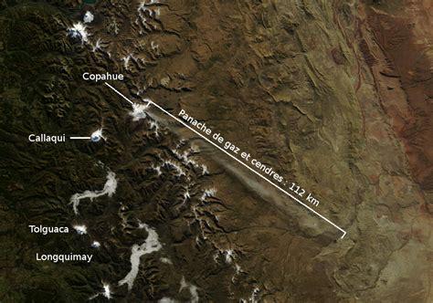 imagenes satelitales modis aumento de actividad en el volc 225 n copahue chile elevan a
