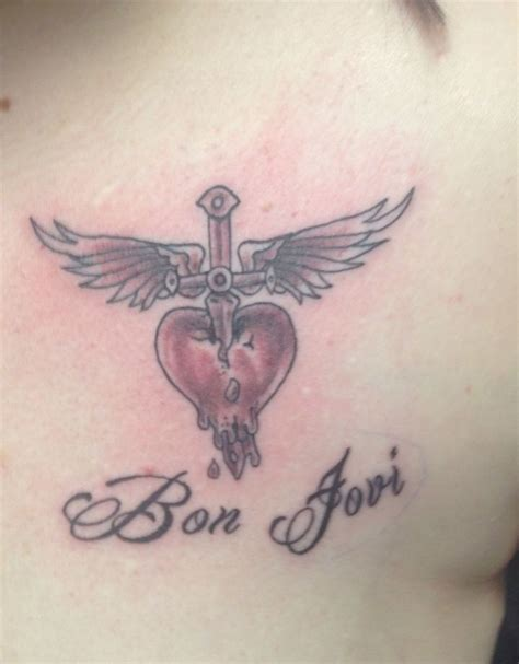 bon jovi tattoo finally got my bon jovi bon jovi