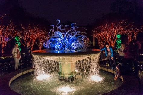 Botanical Garden Of Lights Garden Lights Nights At The Atlanta Botanical