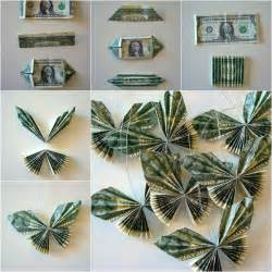 Diy Home Improvement Hacks Diy Dollar Bill Butterfly