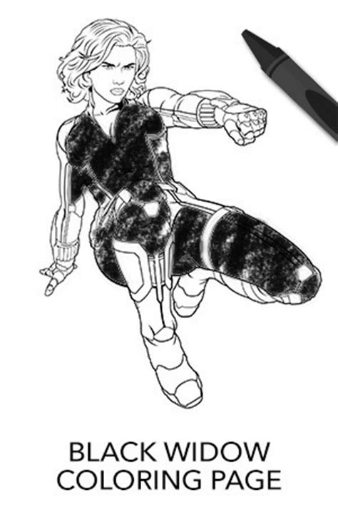 black widow coloring page avengers avengers black widow coloring page disney movies