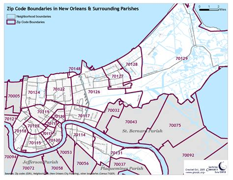 zip code map new orleans reference maps the data center