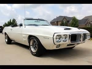 1969 Pontiac Trans Am For Sale 1969 Pontiac Firebird Convertible Trans Am For Sale