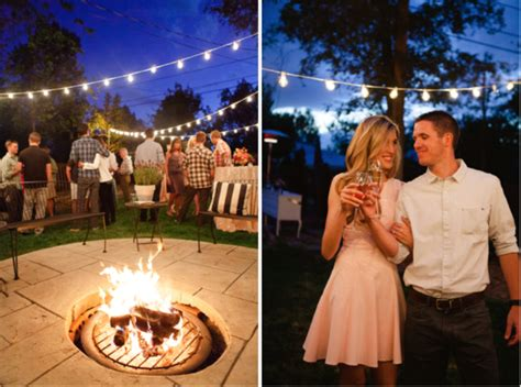 backyard bbq engagement party 25 engagement party ideas weddingdash com