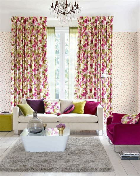 matching wallpaper and curtains fabrics 17 best images about floral fabrics and flowers on