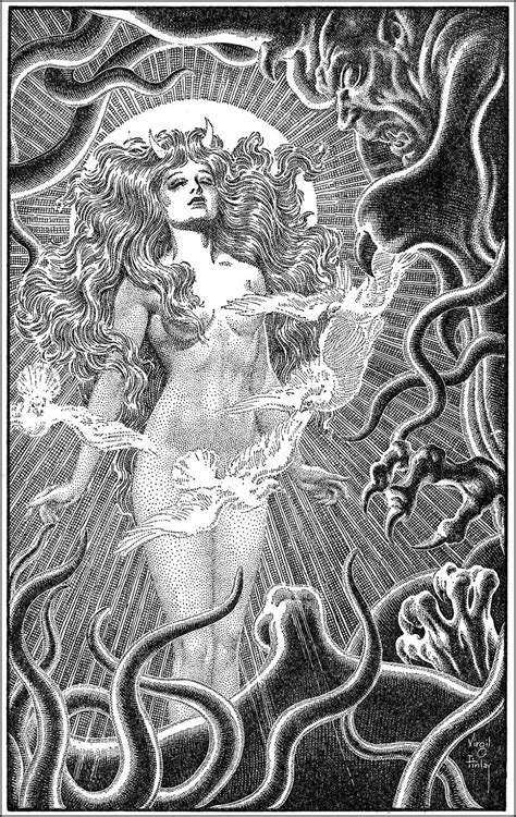 VIRGIL FINLAY & A. MERRITT ~ The Ship of Ishtar ~ 1949
