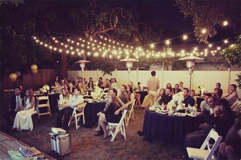 backyard vow renewal everything weddings pinterest