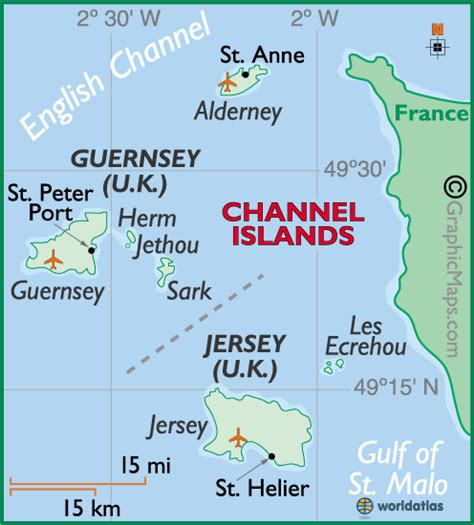map uk and channel islands channel islands