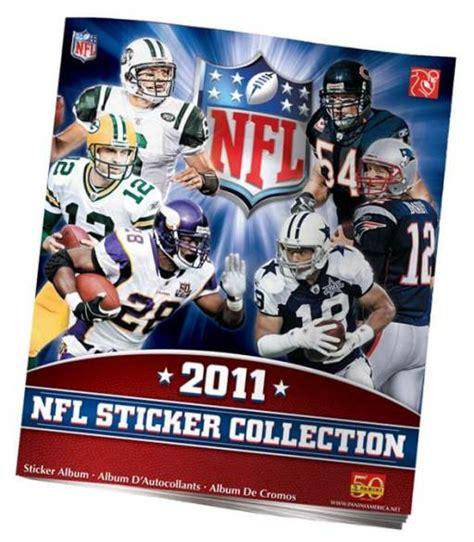 Nfl Football Sticker Book