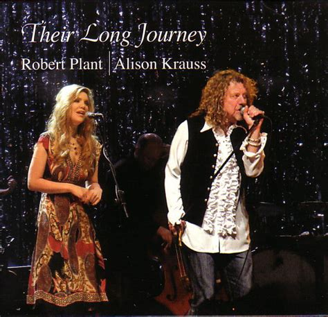 Robert Plant And Alison Krauss Celebrate Launch Of New Album robert plant alison krauss their journey cd at