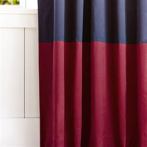 color block drapes color block blackout drape pbteen