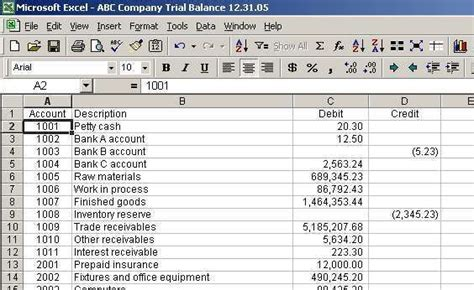 excel trial download download trial balance excel template sample