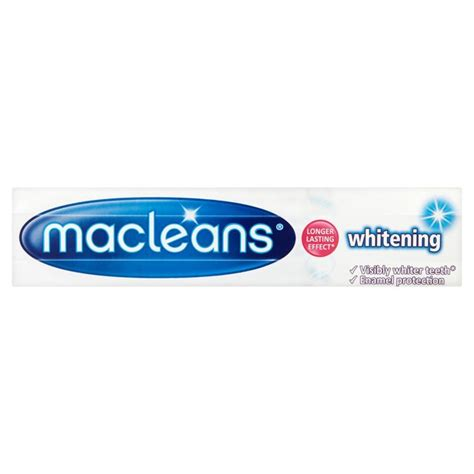 Sho Herbal Essences macleans whitening toothpaste 100ml from ocado