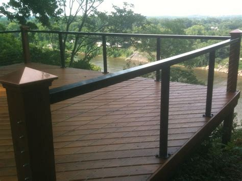 Stainless Steel Deck Railing by Cable Rail Aluminum Railing Systems From Stainless Cable