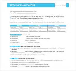 90 day development plan template 16 30 60 90 day plan template free sle