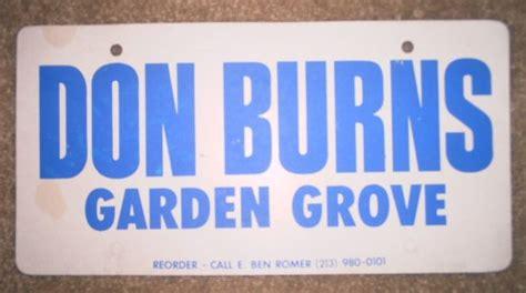 Garden Grove Ca Business License Thesamba Don Burns Inc Garden Grove California