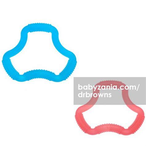 Dr Brown Flexees Teether Gigitan Bayi Berdiskon jual murah dr brown s a shaped flexees teether mainan di jakarta