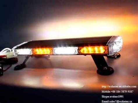 amber and white light bar 506 4b4 amber white led mini lightbar strobe emergency