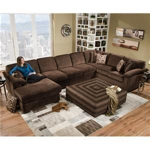 6500 sect six person sectional sofa for contemporary