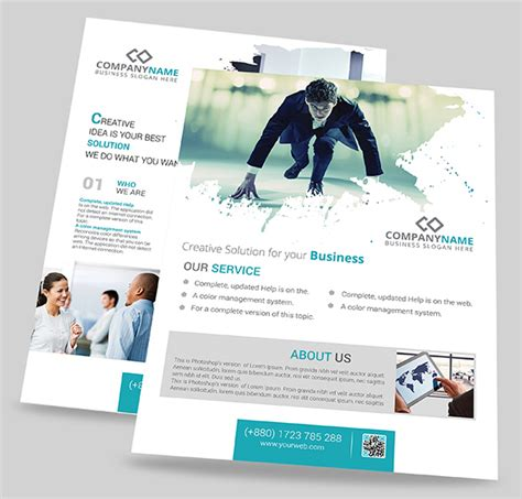free professional flyer templates 47 free psd flyer templates