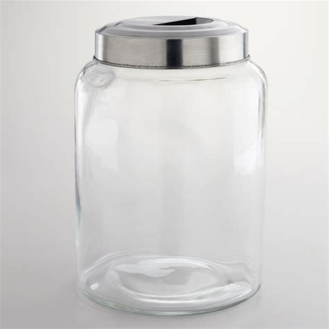 canisters amusing large glass canister jars 10 gallon