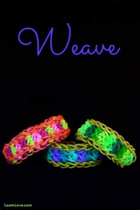 Wacky Weave Loom Band Bracelet Gelang how to make rainbow loom bracelets rainbow loom