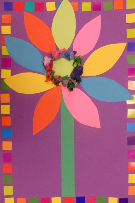 Construction Paper Flower Crafts - the world s catalog of ideas