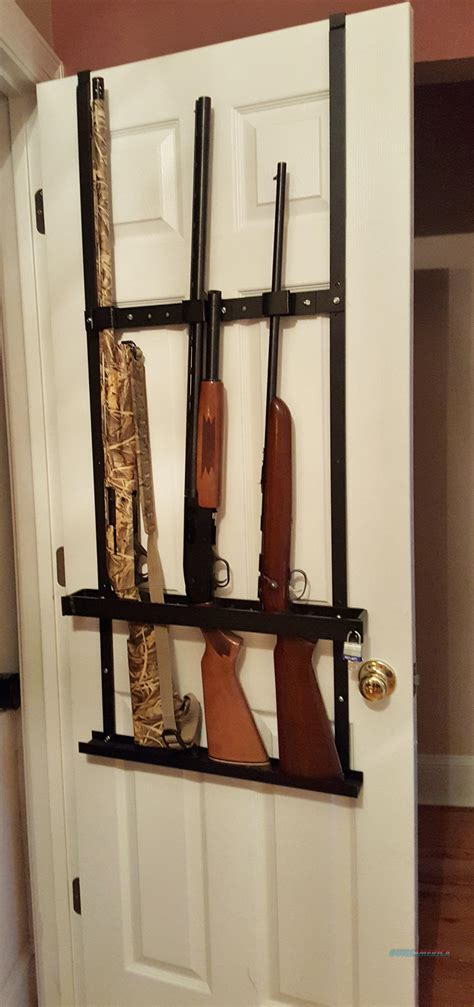 Closet Gun Rack by Self Defense Gun Rack Rifle Shotgun Closet Door Rack