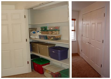 lots of storage basement closet basement