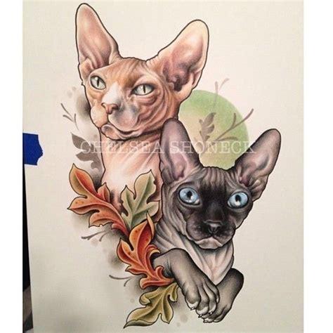tattoo sphynx cat chelsea shoneck sphynx tattoo pinterest best chelsea