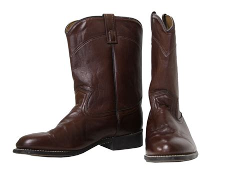 mens low cowboy boots retro 1980 s shoes made in usa 80s made in usa mens