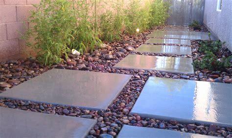 Floating Concrete In Asian Contemporary Theme Las Vegas Landscape Rock Las Vegas