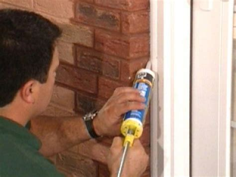 diy door projects ideas diy - Caulk For Windows Interior